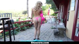 ShesNew - Jizzing On That Sexy Cute Face