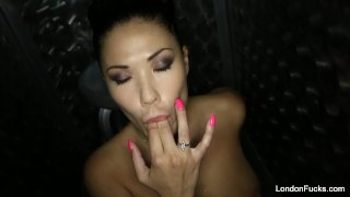 London Keyes has been a very bad girl