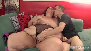 Redhead mature whore Sweet Cheaks gets fucked