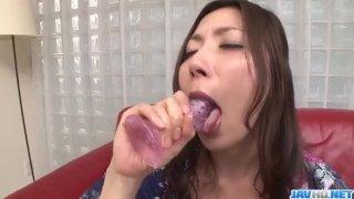 Mirei Yokoyama uses toy ro stimulate her