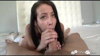 Tiny4K - Alaina Kristar's pussy gets creampie
