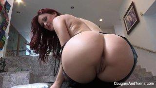 Hot MILF Dana worships cute redhead Karlie