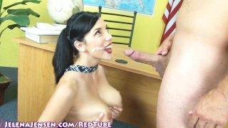 Busty School Girl Jelena Jensen in trouble!