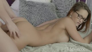 MOM Redhead teacher fucks younger student