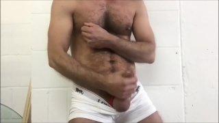 Big White Bulge Cum a Load