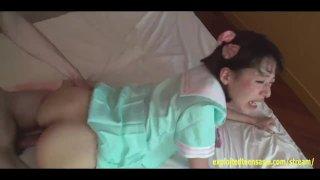 Bucktooth Jav Teen Miruku Chubby Butt Schoolgirl Gets Creampie Squirts It