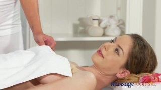 Massage Rooms Big tits lesbians have orgasmic sex