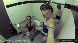 TwistedVisual - Dana DeArmond REAL Public Lesbian Sex