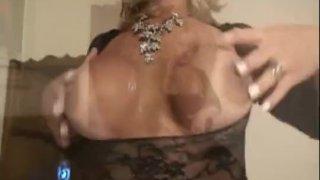 Stunning Shemale Gets Bareback Fuck Hardcore