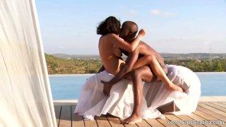 Ebony Couple Love Making Session