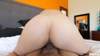 Fuck her hairy pussy goodbye