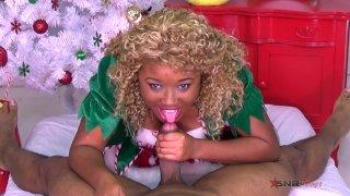 Giving daddy an early Christmas present / Nina Rivera