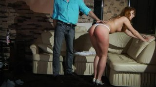 Spanking and humiliation.