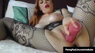 Oily Anal Penetration & Masturbation Heaven with Penny Pax!