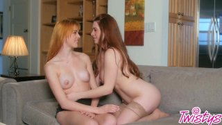Twistys-Naughty lesbian exchange student with Anny Aurora