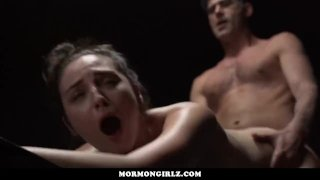 MormonGirlz- Teens punished by father figure