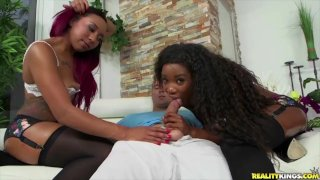Reality Kings - Ass Sandwich, sexy interracial threesome