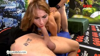 Paola Mike Takes the Monster Cock like a true Slut - GGG