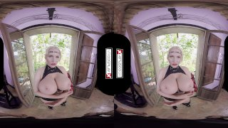 VR Cosplay X Jordan Pryce Is Sex Ninja VR Porn