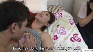 Subtitles JAV insane mother daughter sex ed lesson