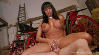 Busty Latina Captured By Her Own Prisoner