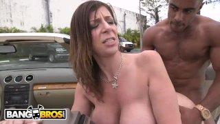 BANGBROS - Big Ass MILF Sara Jay Takes On a Big Black Cock