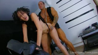 Cute Brunette Gets More Than She Bargained For