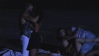 Zana Sun and Vanessa Chase, Night Orgy at