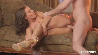 Lana Rhoades and James Deen Passionately Fuck Each Other Hard Till They Cum