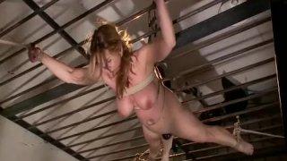 Carissa Montgomery Bit Tit Milf In Extreme Bondage