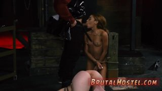 Cute bdsm and bondage orgasm punishment