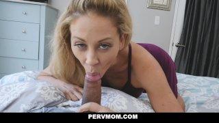 PervMom - Horny Mom Fucks Panty Sniffing Stepson