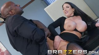 Brazzers - Curvy Babe Angela White wants some BBC