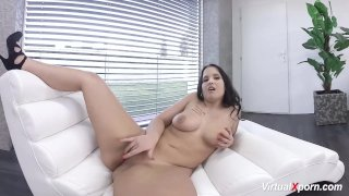 Chubby Young Teen on Virtual Webcam