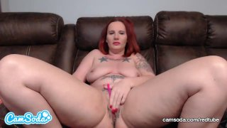 DebrahAnn masturbates on cam for the FIRST TIME