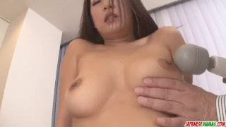 Satomi Suzuki dildo fucked and licked on clit by - More at Japanesemamas co