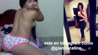 Hermosa Venezolana Gianna en fotos hot