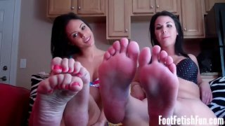 Femdom Fishnets And Foot Fetish Videos