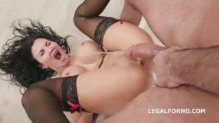 Fucking Wet 4 on1 with Jasmine Jae Balls Deep DAP Squirting Asshole