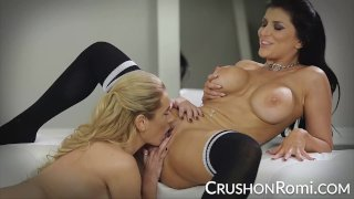CrushGirls - Romi Rain and Briana Banks get naughty