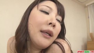 Busty Hinata Komine in scenes of rough threesome - More at Japanesemamas co