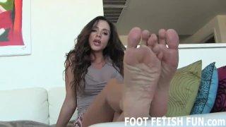 POV Toe Sucking And Femdom Foot Fetish Videos