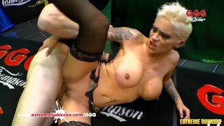 Mila Milan's Hardcore Gangbang - Extreme Bukkake