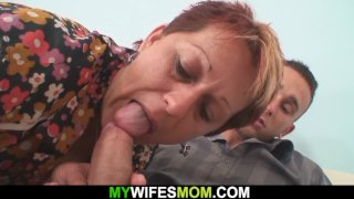 My girlfriends mom seduces me into taboo sex