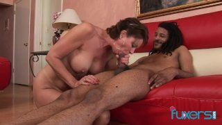 Vanessa Videl interracial cougar