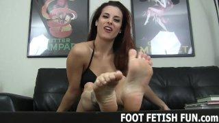 Female Feet Fetish And POV Femdom Porn