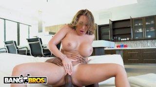 BANGBROS - Stepmom Richelle Ryan Punishes Her Young Black Step Son Xavier