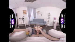 TmwVRnet - Tiny Teen - Making selfie on his knees