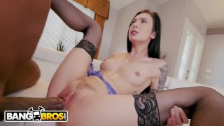 BANGBROS - The Insatiable Marley Brinx Gets Wrecked By Mandingo