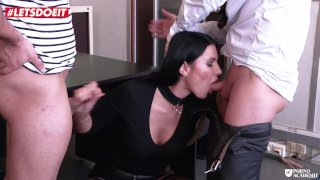 LETSDOEIT - Hot Milf Teacher Ania Kinsky Ass Abused At The Academie
